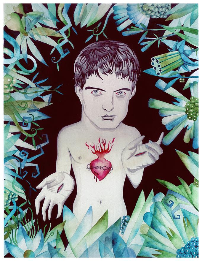 Love will tear us appart. Ian Curtis