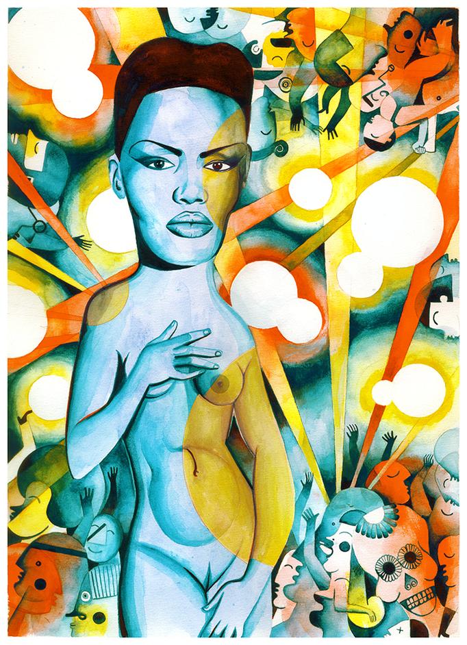 Venus. Grace Jones