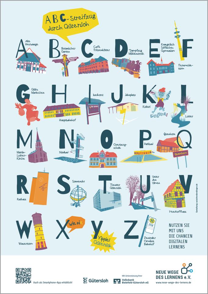 ABC-Plakat-Gütersloh