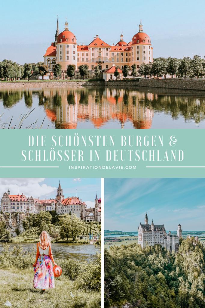 Entdecke die schönsten Burgen und Schlösser in Deutschland. Ob in Bayern, Baden-Württemberg, NRW oder in Sachsen - überall gibt es tolle Burgen und atemberaubende Schlösser in der Nähe. In meinem Blog findest du beliebte Fotospots, Aussichtspunkte und Geh