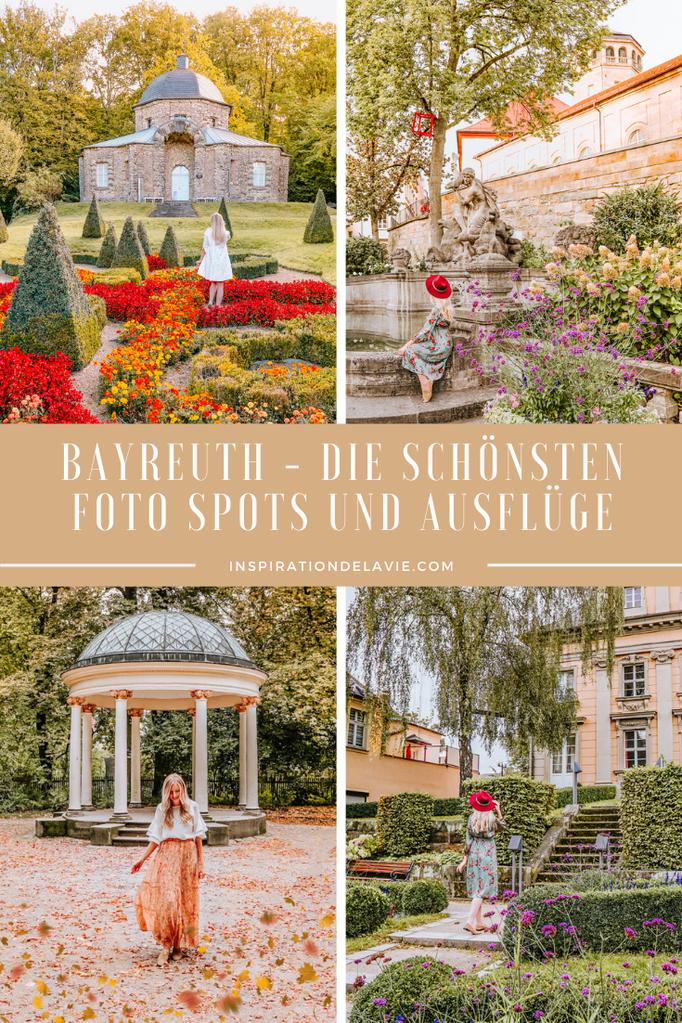 Meine Bayreuth Reisetipps für einen Kurzurlaub in Franken – Tipps für Sehenswürdigkeiten, romantische Orte, Instagram Spots und Fotospots sowie Ausflüge rund um Bayreuth. Ob Eremitage, Markgräfliches Opernhaus oder Neues Schloss: Auf meinem Reiseblog find
