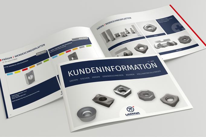 Produktbroschüre für die Lamina Technologies GmbH