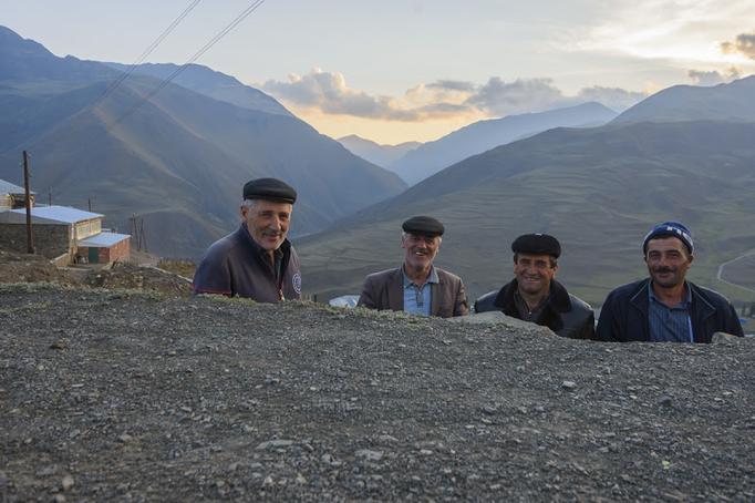 Die Vier Lächler im Kaukasus