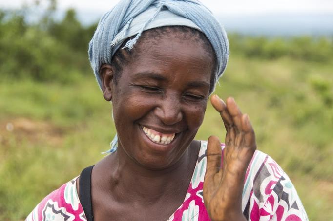 Das Lächeln Afrikas mit stolzen 78 Jahren