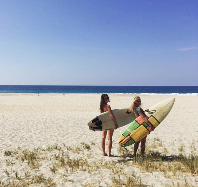 surf, girls, beach, surffun, summer, friends, puerto escondido