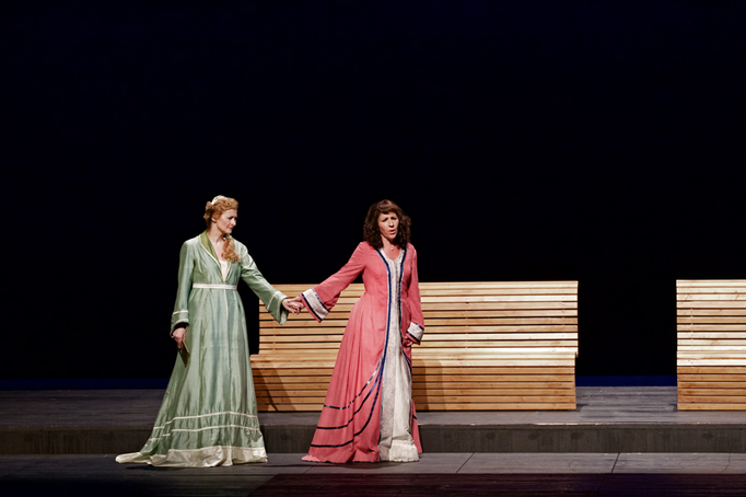 Hermine Haselböck - Wagner's Brangäne in Tristan und Isolde (with Mona Somm as Isolde) 2015