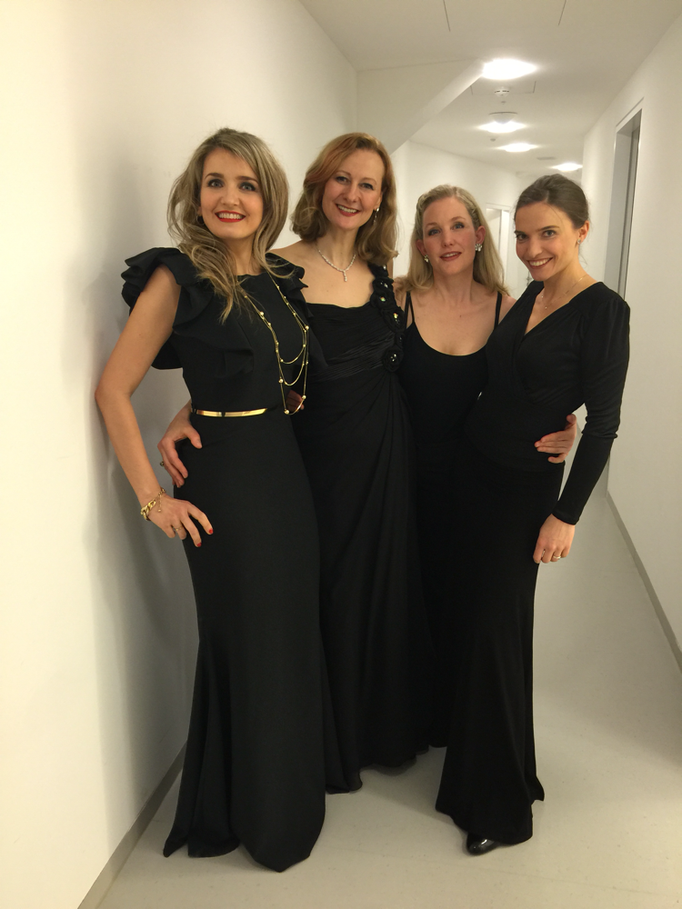 Bach's Mathew Passion with Lada Kyssy, Hermine Haselböck, Jo-Anne Bitter, Elena Sautier (2016)