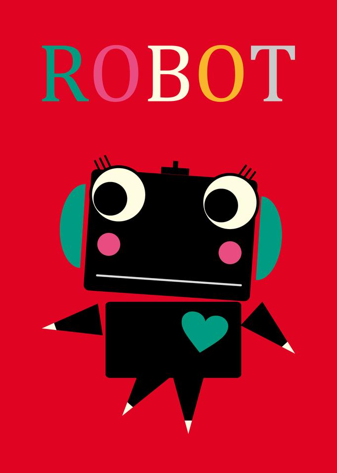 ロボットキャラクター/マサノヴァアート