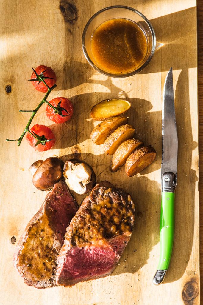 Köstliche Steaks