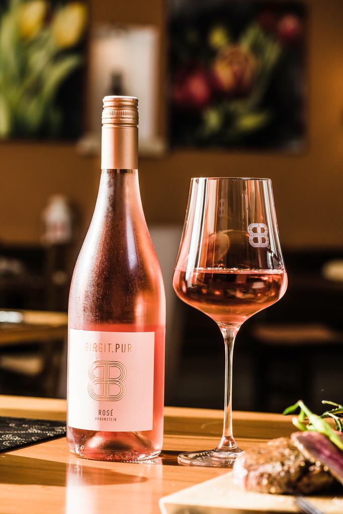 Rosé Wein Birgit Braunstein