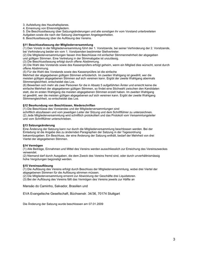Vereinssatzung Gruppe Seele e.V. Seite 03