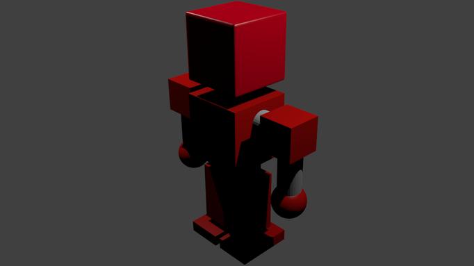 Blender Test 1 Robot