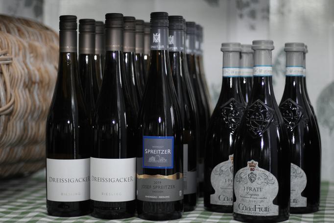 leckere Weine aus Deutschland und Italien
