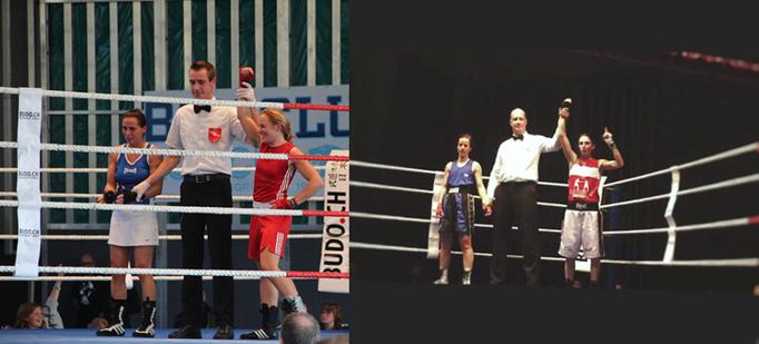Emma Payne und Ria König sigten für den Box-Ring Zürichsee