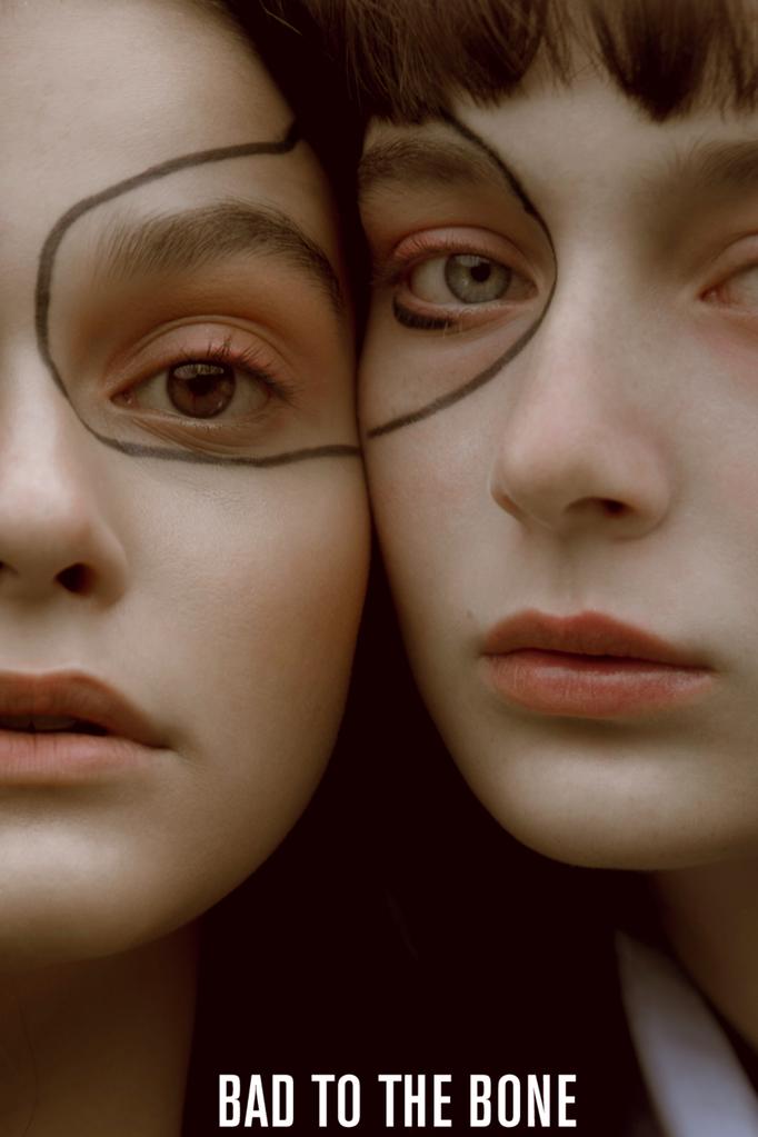 """der kopf in den wolken"" - badtothebone magazine - photographer: alice bergg - makeup/hair: anie lamm-siu - models: edina polak & petra martai"