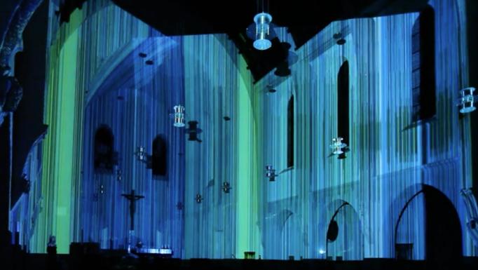 Kurt Laurenz Theinert, Visual Piano, Marienkirche Stuttgart, 2011