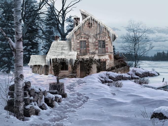 1. Akt - Das Haus von Aschenputtel's Stiefmutter