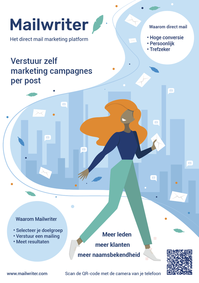 Campagne voor 'Mailwriter'