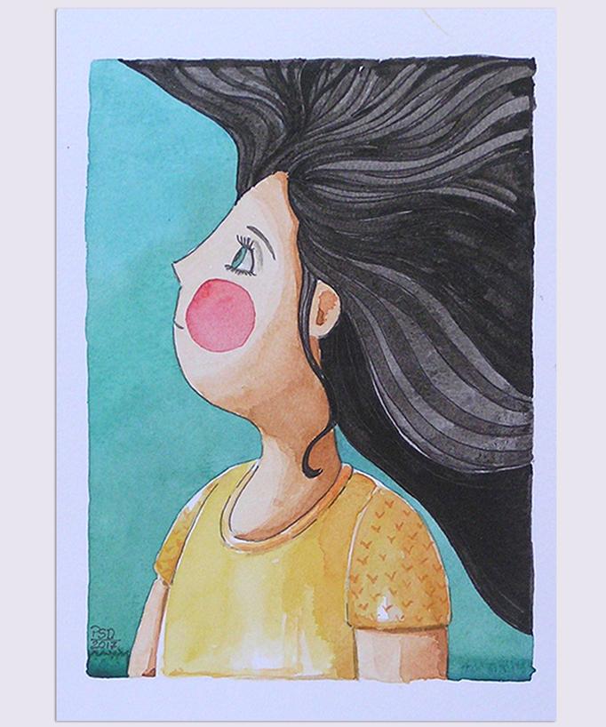 Detalle Chica1 -13x18cm