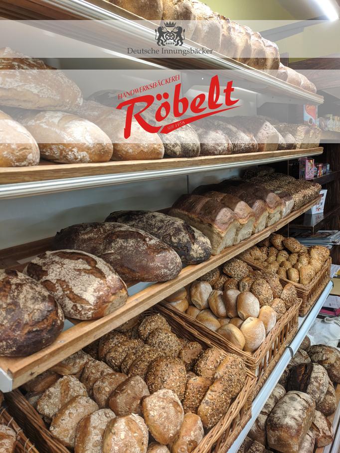Bäckerei Röbelt Brotregal