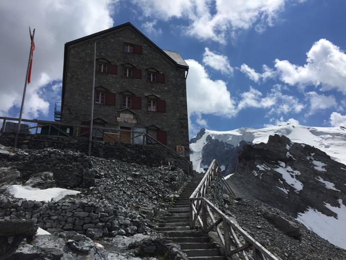 Payer Hüttem, Ortler Abstieg, Normalweg Ortler, Ortler Hintergrat