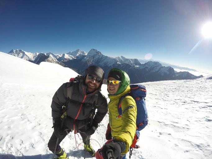 Gipfelerfolg Mera Peak, Mera Peak Trekking, Mera Peak expedition,