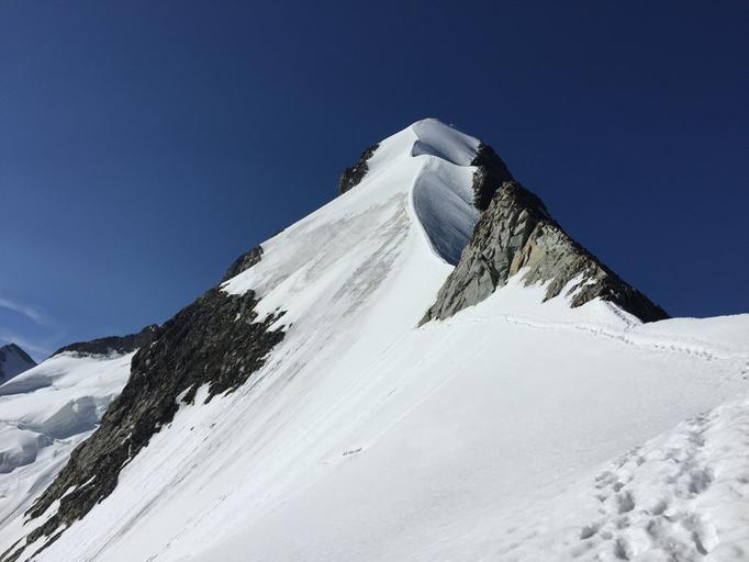 Biancograt, Piz Bianco, Piz Bernina, Bernia, Bernia Gipfel