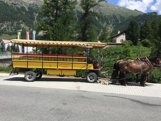 Kutschenfahrt Tschiervahütte, Kutschenfahrt Val Roseg, Biancograt