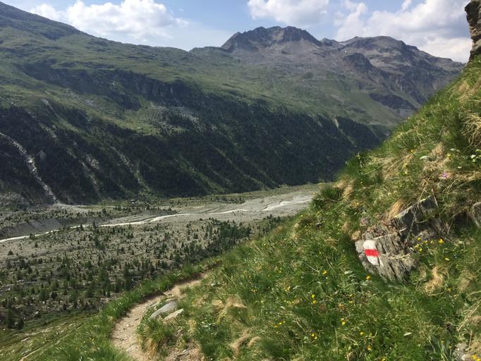 Aufstieg Tschiervahütte, Biancograt