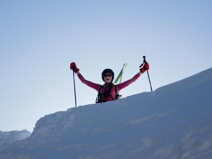 Ifen, Abseiltour, Freeriden im Kleinwalsertal, Skitourenkurs im Kleinwalsertal