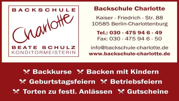 Logo - Backschule Charlotte