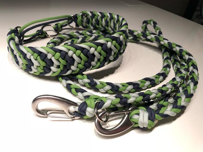 3 Way Tie und Leine 6-fach rund