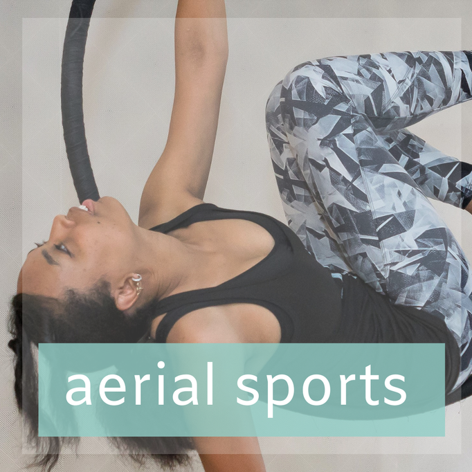 Aerial Yoga en Aerial Hoop
