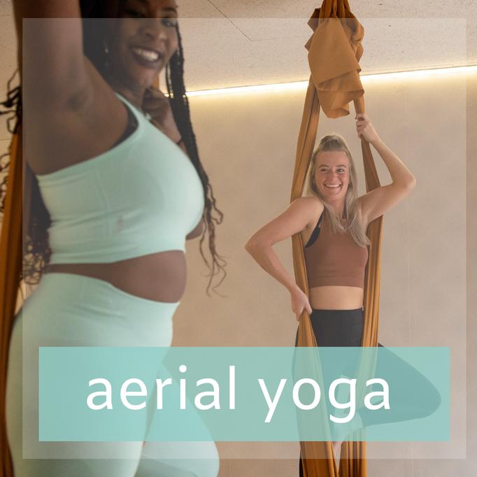 Aerial Yoga, yoga maar dan in de lucht
