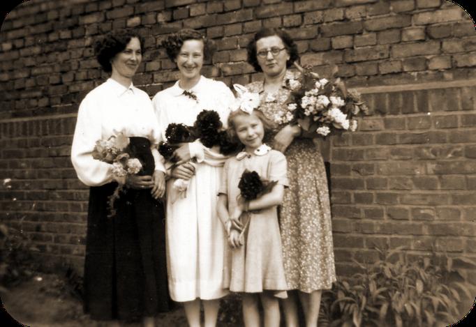 Gertrud, Anna, Elfriede Katterwe