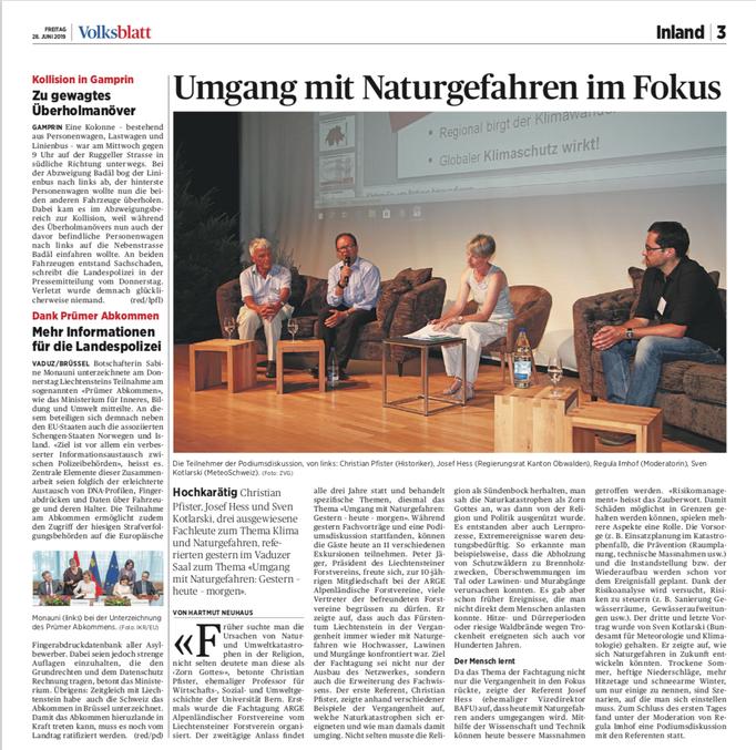 Volksblatt vom 28.06.19