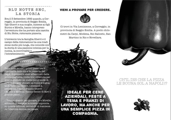 Restaurant's Brochure