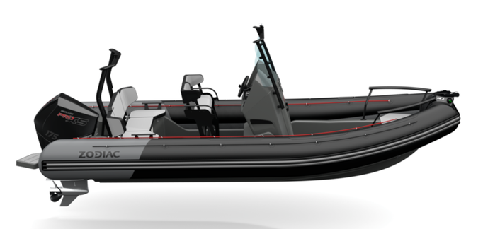 Zodiac Open 6.5 RIB - Rubberboot Holland Aalsmeer