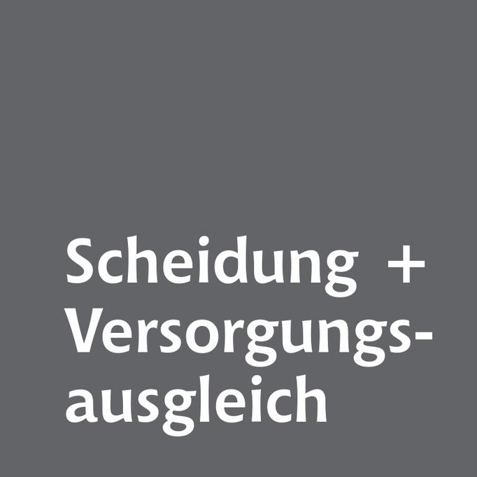 Scheidung und Versorgungsaussgleich Familienrechtskanzlei Martina Wolter Braunschweig
