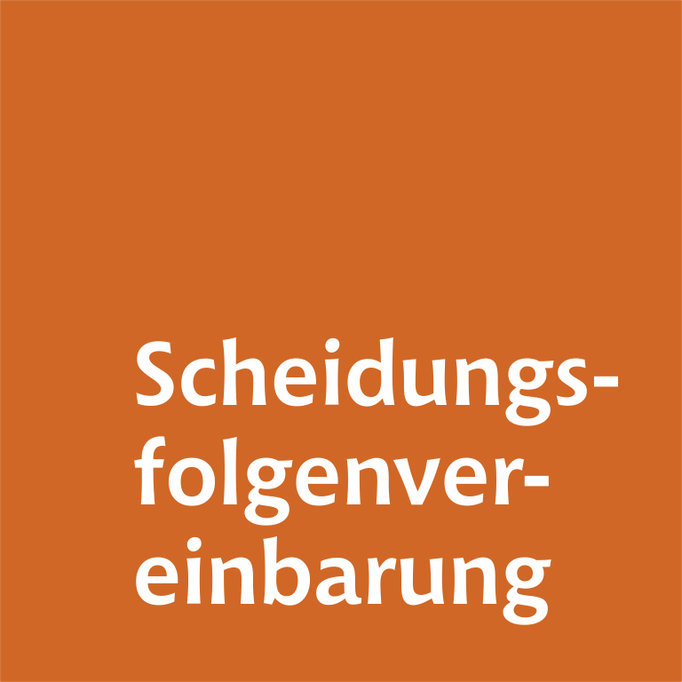 Scheidungsfolgenvereinbarung Familienrechtskanlei Martina Wolter Braunschweig