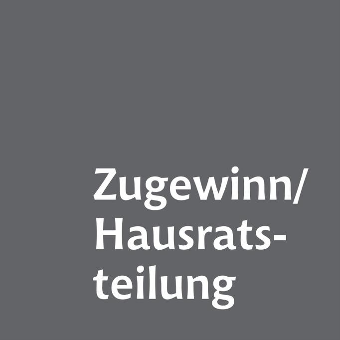 Zugewinn und Hausratsverteilung Familienrechtskanzlei Martina Wolter Braunschweig