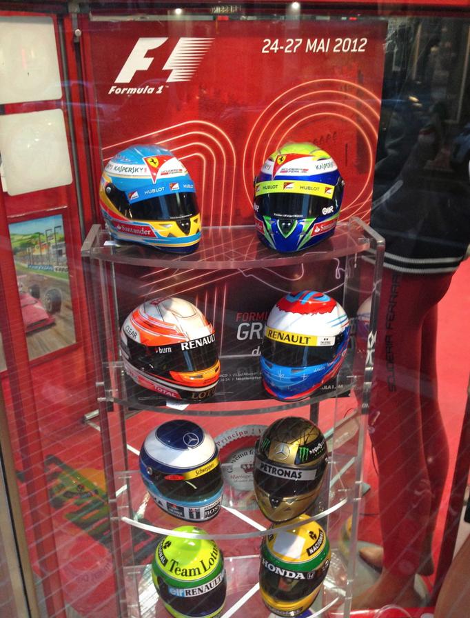 F1 Dekoration mieten