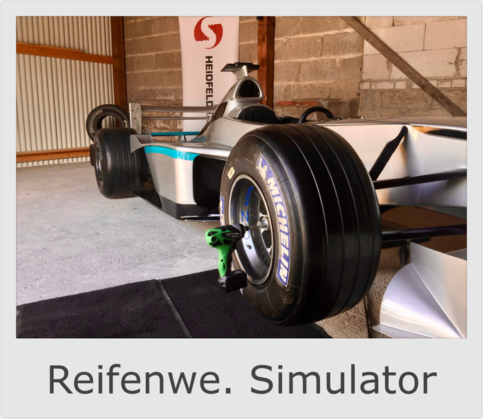 Formel 1 Reifenwechsel Boxenstopp Simulator mieten