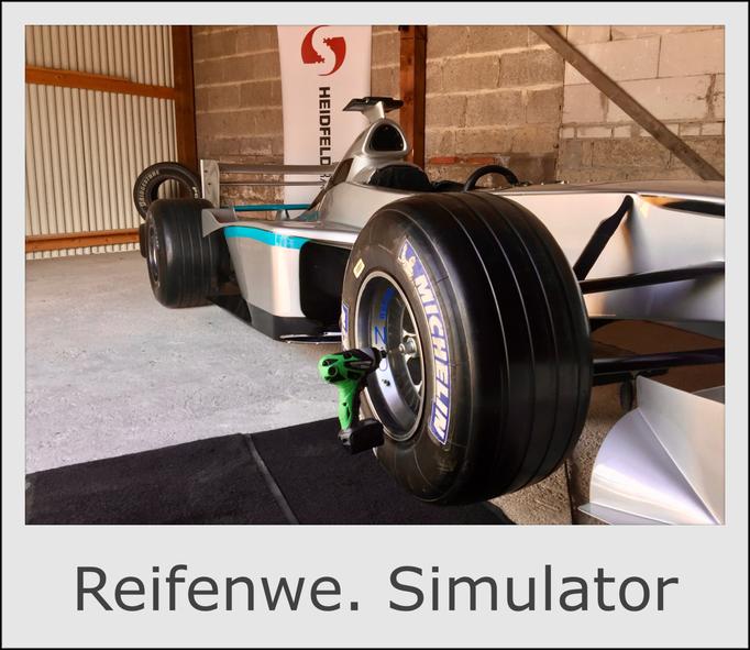 Formel 1 Auto Reifenwechsel Boxenstopp Simulator PitStopp