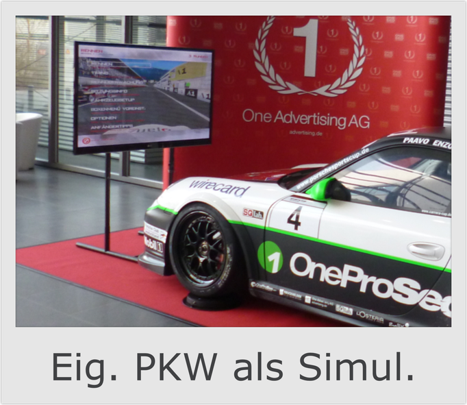 Adaptionskit Simulator Auto PKW huren