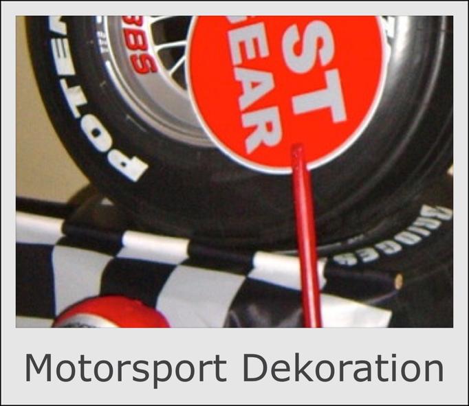 Motorsport Dekoration