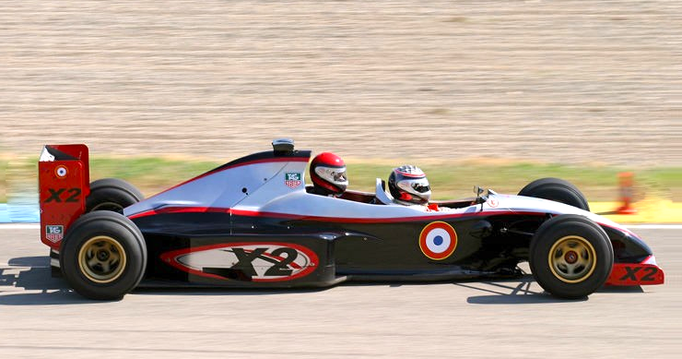Co Pilot sportwagen rennstrecke