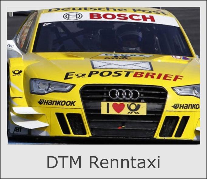 DTM Renntaxi