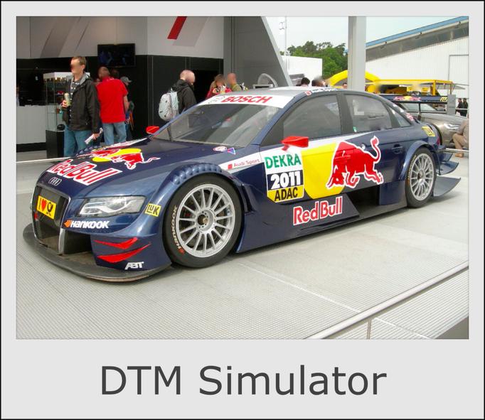 DTM PKW Auto Simulator