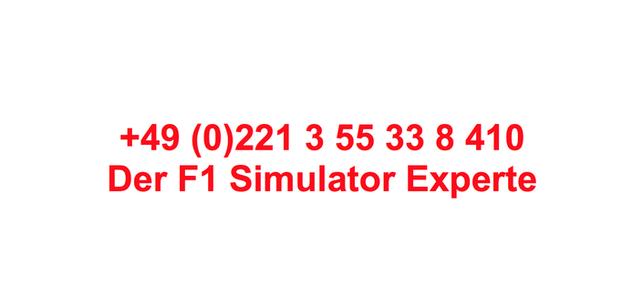 F1 Showcar Auto huren, Race Simulators